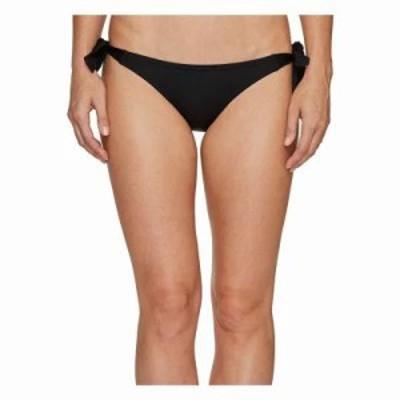 ヴィンス カムート ボトムのみ Draped Solids Side Tie Bikini Bottom Black