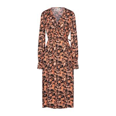 BAUM UND PFERDGARTEN 7分丈ワンピース・ドレス ブラック 38 レーヨン 100% 7分丈ワンピース・ドレス