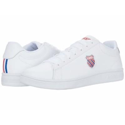 ケースイス メンズ スニーカー シューズ Court Shield White/Corporate