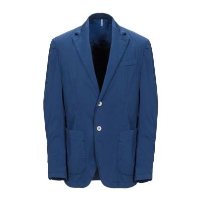 DOMENICO TAGLIENTE テーラードジャケット パステルブルー 54 コットン 97% / ポリウレタン 3% テーラードジャケット