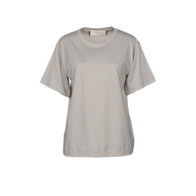 マルニ MARNI T シャツ ライトグレー 38 コットン 100% T シャツ