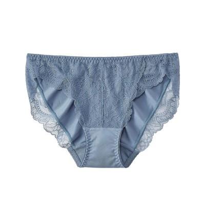 【プレーンショーツ】Lace プレーンショーツ2 ブルー系(VB)/VB 【返品不可商品】