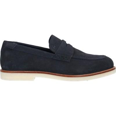 ホーガン HOGAN メンズ ローファー シューズ・靴 loafers Dark blue