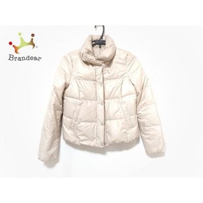 アンタイトル UNTITLED ダウンジャケット サイズ2 M レディース ベージュ 冬物    値下げ 20201117