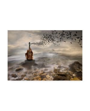 "Leyla Emektar La Autumn Music Canvas Art - 20"" x 25"""