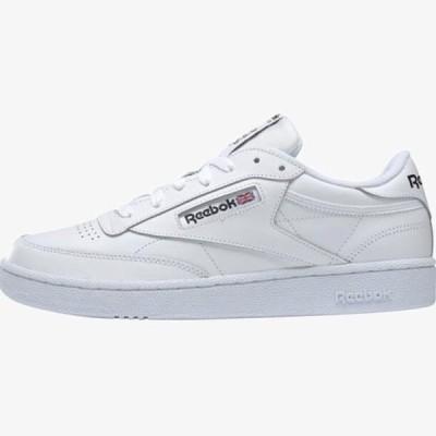 リーボック メンズ 靴 シューズ CLUB C 85 SHOES - Trainers - white