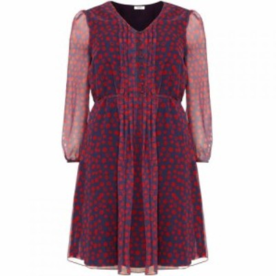 スタジオ8 Studio 8 レディース ワンピース ワンピース・ドレス Jada Spot Dress Navy Multi