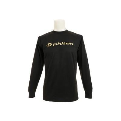 ファイテン(PHITEN) Tシャツ 長袖 RAKUシャツ SPORTS 吸汗速乾 ロゴ 3116JG1802 【バレーボールウェア スポーツウェア】 (メンズ)