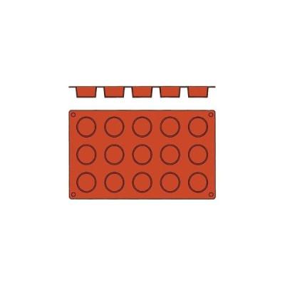 【まとめ買い10個セット品】 ガストロフレックス 丸平プチフール(1枚)2579.16(15ヶ取)【 製菓・ベーカリー用品 】