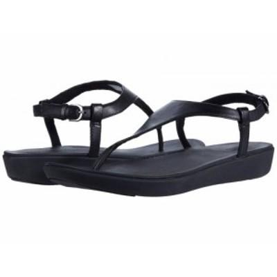 FitFlop フィットフロップ レディース 女性用 シューズ 靴 サンダル Lainey Toe-Thong Back-Strap Sandal All Black【送料無料】
