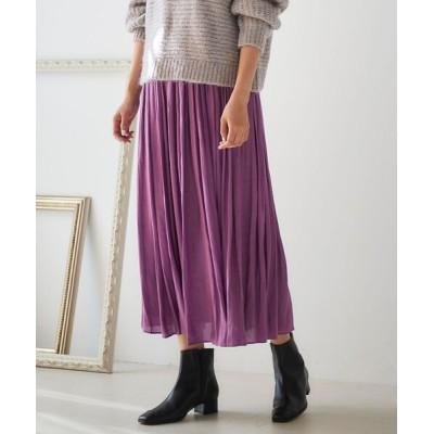 le.coeur blanc / クチュールビンテージギャザーロングスカート WOMEN スカート > スカート