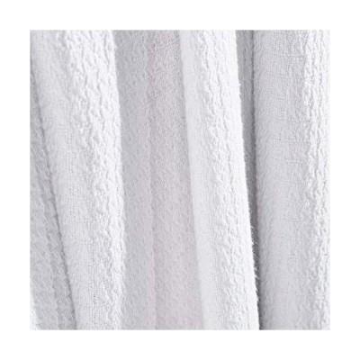 Superior Woven Cotton Textured Blanket (White, Twin)並行輸入品