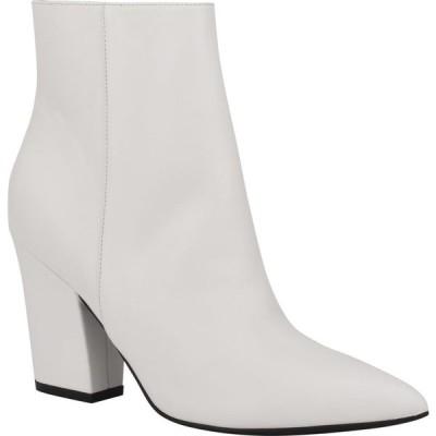 ナインウエスト NINE WEST レディース ブーツ シューズ・靴 Gaba Pointed Toe Boot White Leather