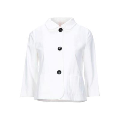 EMME by MARELLA テーラードジャケット アイボリー 40 コットン 54% / レーヨン 44% / ポリウレタン 2% テーラードジ