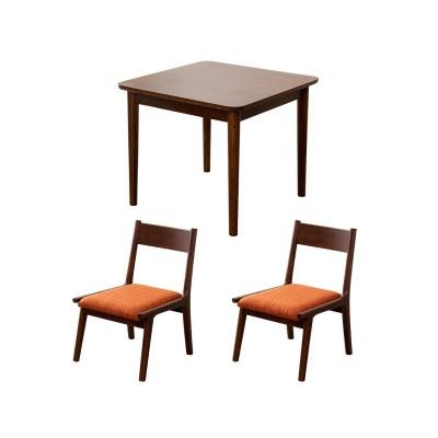 2人掛けロースタイルダイニング3点セット ダイニングテーブルセット, Tables(ニッセン、nissen)