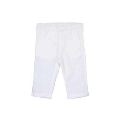 ALETTA パンツ ホワイト 6 コットン 55% / 麻 45% パンツ