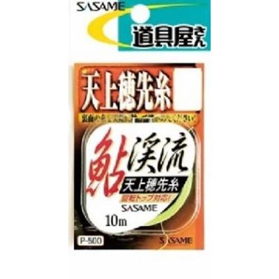 ささめ針(SASAME) P-500 道具屋 天上穂先糸 オレンジ 細