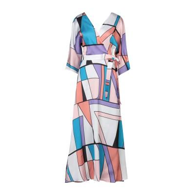 STEFANEL 7分丈ワンピース・ドレス ライラック 38 ポリエステル 100% 7分丈ワンピース・ドレス