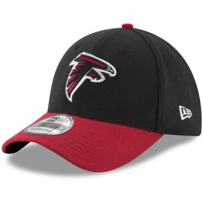 ファルコンズ キャップ/帽子 NFL 39THIRTY フレックス ニューエラ/New Era ブラック/レッド