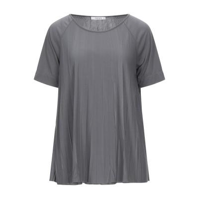 カングラ カシミア KANGRA CASHMERE T シャツ グレー 46 ポリエステル 65% / レーヨン 35% T シャツ