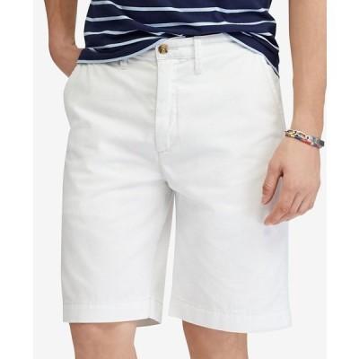 """ラルフローレン カジュアルパンツ ボトムス メンズ Men's Relaxed Fit Twill 10"""" Short White"""