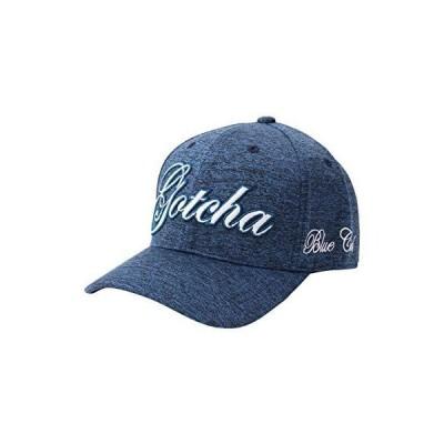[ガッチャ ゴルフ] GOTCHA GOLF 帽子 抗菌防臭 立体 ロゴ キャップ 203GG8702 ブルー F