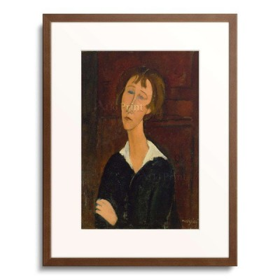 アメデオ・モディリアーニ Amedeo Clemente Modigliani 「Portrait of a Woman with a White Collar.」