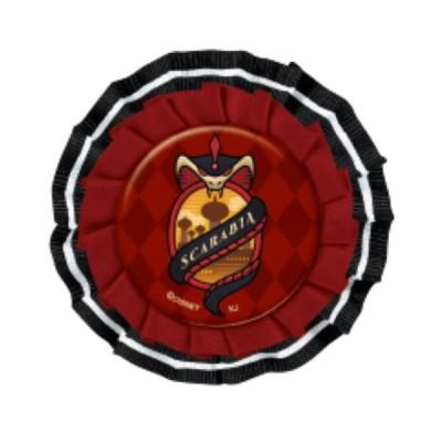 ディズニーツイステッドワンダーランド ロゼット缶バッジ スカラビア [542968]