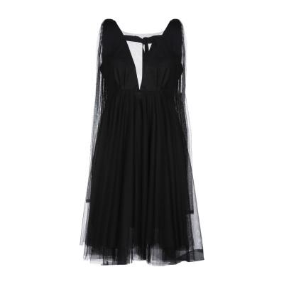 MILLA MILLA® ミニワンピース&ドレス ブラック 38 コットン 100% ミニワンピース&ドレス