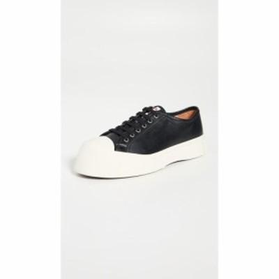 マルニ Marni メンズ スニーカー ローカット シューズ・靴 Exaggerated Sole Low Top Sneakers Black