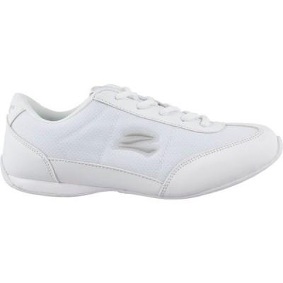 ゼフス スニーカー シューズ レディース zephz Women's Butterfly Lite Cheerleading Shoes White