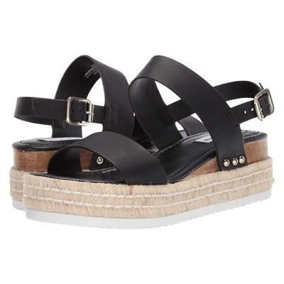 スティーブマッデン Catia Wedge Sandal レディース ヒール パンプス Black Leather