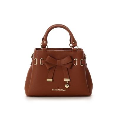 SAMANTHAVEGA / フロントリボントートバッグ(ミニ) WOMEN バッグ > ハンドバッグ