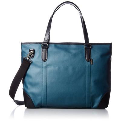 [エバウィン] 【日本製】ビジネスバック トートバッグ 撥水加工 B4サイズ収納可 21587 ブルー