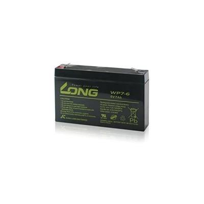LONG サイクルバッテリー WP7-6(産業用鉛蓄電池)■SN7.2-6 RE7-6 PE6V7.2 PXL06090 LC-R067R2PG1 互