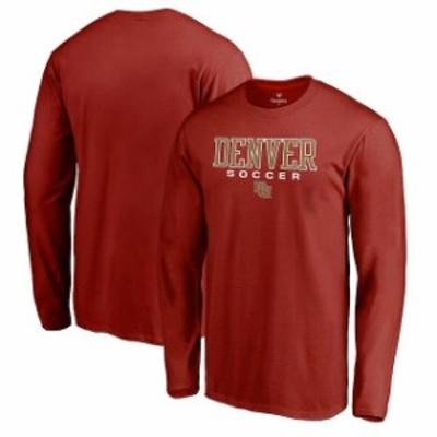 Fanatics Branded ファナティクス ブランド スポーツ用品  Fanatics Branded Denver Pioneers Crimson True Sport Socc