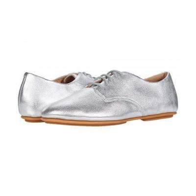 FitFlop フィットフロップ レディース 女性用 シューズ 靴 オックスフォード ビジネスシューズ 通勤靴 Adeola - Silver