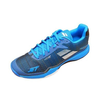 Babolat Men's Clay Court Shoes Tennis, Diva Blue, US 7.5