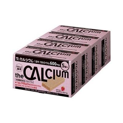 大塚製薬 ザ・カルシウム ストロベリークリーム (11.2g×5袋)×4箱