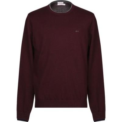 サン シックスティーエイト SUN 68 メンズ ニット・セーター トップス sweater Deep purple