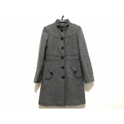 フラジール FRAGILE コート サイズ36 S レディース グレー×ライトグレー 冬物【中古】20200707