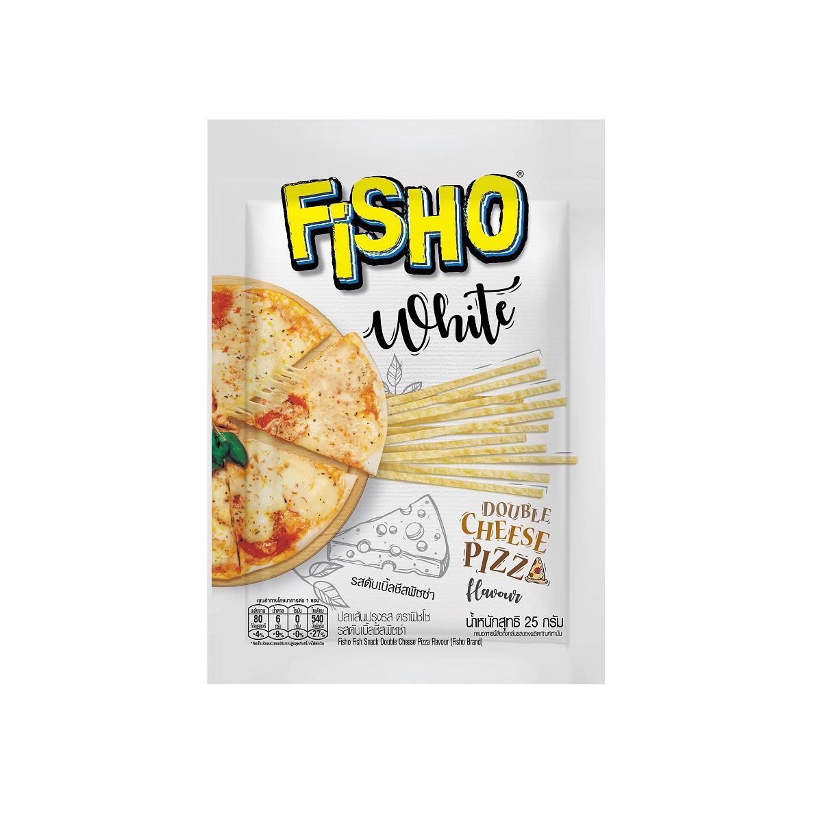泰國Fisho 起司比薩風味魚絲條25g