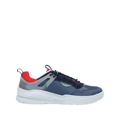 アントニー モラート ANTONY MORATO スニーカー&テニスシューズ(ローカット) ダークブルー 42 革 / 紡績繊維 / プラスティック