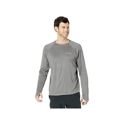コロンビア PFG ZERO Rules Ice Long Sleeve Shirt メンズ シャツ トップス City Grey