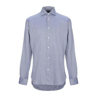 カルーゾ CARUSO シャツ ブルー 41 コットン 100% シャツ