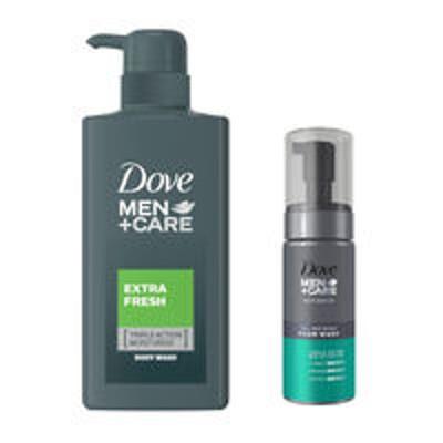 ユニリーバ【お得なセット】Dove MEN(ダヴメン)+ケア ボディソープ + 泡タイプ 洗顔料 さっぱり ユニリーバ