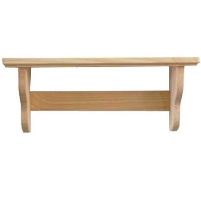 木製シェルフ 無塗装白木 w42d10.5h18cm 飾り棚 SALE 目玉商品