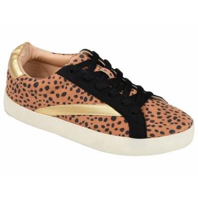 ジャーニーコレクション スニーカー シューズ レディース Comfort Foam Destany Sneaker Leopard
