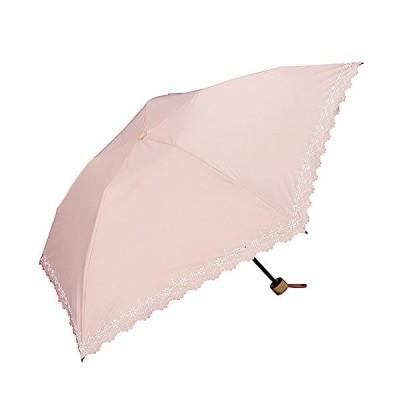 ワールドパーティー(Wpc.) 日傘 折りたたみ傘  ピンク  50cm  レディース 傘袋付き 遮光軽量 ヒートカット ミニ 801-508 PK