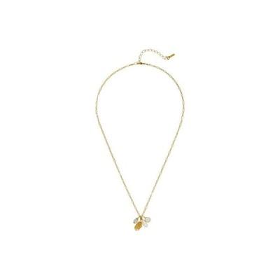 チャン・ルー Short Necklace with Hand Charm and Semi Precious Stones レディース ネックレス Lemon Topaz